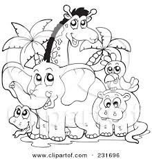 Pin Africa Clipart Coloring Page 14