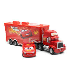 Disney Pixar Cars 3 2 Lightning Mcqueen 155 Mack Truck The King ...