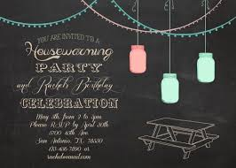 Housewarming And Or Birthday Party Outdoor BBQ Invitation 5x7 Via Etsy SprinkleLine