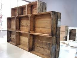 Custom Crate Shelving For A Retail Store By The People