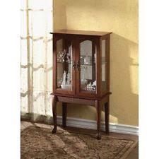 Pulaski Display Cabinet Vitrine by Contemporary Curio Cabinets Ebay