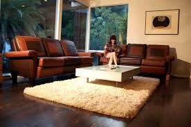 Decorating With Chocolate Brown Couches by New 28 Brown Leather Sofa In Living Room Rustic Dim Brown