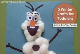 5 Winter Crafts For Toddlers