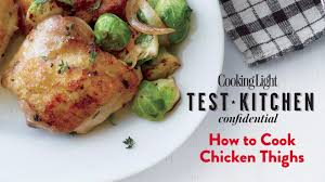 How to Cook Chicken Thighs