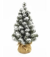 Blooming Holiday Christmas 18u0027u0027 PVC Norway Flocked Spruce Tree Green