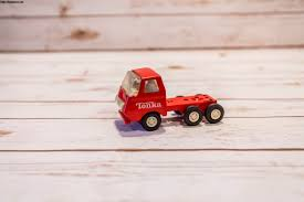 Vintage 1970S Red Tonka Truck Semi Truck Collectable Red White Metal ...