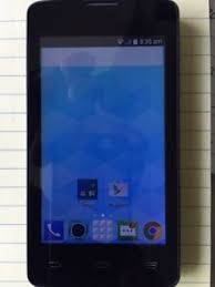 New Black ZTE N817 Smartphone for Virgin Mobile Network from