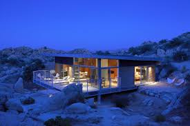 104 Mojave Desert Homes Rock Reach House By O2 Architecture