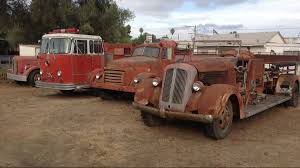 100 Old Fire Trucks A Fleet In El Cajon