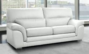 canape relax cuir blanc canape relax cuir pas cher solde canapac dangle imperia 2 places