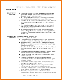 Real Estate Agent Resume Amazing Examples To Get You Hired Livecareer