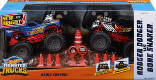 100 Hot Wheels Monster Truck Toys Buy New Bright RC 124 Scale Radio Control Toy Twin Pack R Exclusive For CAD 3497 R Us Canada