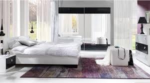 01898 schlafzimmer stripes bett kommode nachttisch