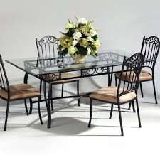 Modern Dining Room Sets Amazon by Wrought Iron Dining Table And Chairs