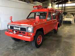 1991 Nissan Safari Fire Truck - U0351 - MaxMotive