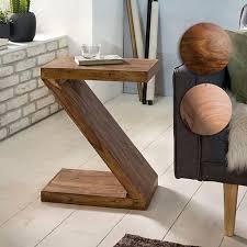 wohnling beistelltisch mumbai massivholz z cube 60cm hoch wohnzimmertisch braun landhausstil couchtisch