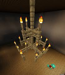 Minecraft Chandelier Design Musethecollective