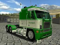100 18 Wos Haulin Truck Mods Freightliner NZ6 Wheels Of Steel Skin
