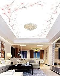 weaeo wallpaper wandbild foto pflaume zweige decke 3d