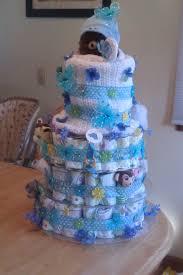Baby Shower — Diaper Cake Boy