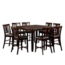 IoHomes 9pc Sturdy Dining Table Set Wood/Espresso, Brown ... Piece Ding Set Light Chairs Red And Table Wicker Rooms Cream Upholstered Padded Kitchen With Amazoncom Solid Oak Room Of 2 Sturdy 7 Woodespresso Fniture What Is The Best Place To Buy Cheap But Sturdy Fniture Wooden Kids And Eertainment Chairs White Mcmola Case 50kitchen Side Better Homes Gardens Maddox Crossing Chair Brown Details About Of Wood Black Traditional Wing Back Ash Barley Velvet Fabric Parson Room Table 4 In Ch5 4wl Connahs Quay For