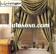 Swag Curtains For Living Room by Captivating Swag Shower Curtains With Valance 86 In Small Home