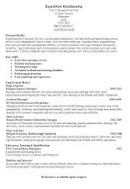 Resume Profile Samples Best Examples Ideas On Professional Sample Career