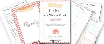 le kit d organisation maison organizations bullet and journal
