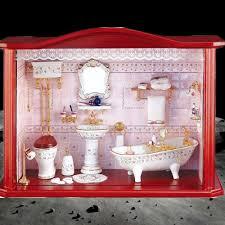 reutter porzellan miniaturen großes wandbild badezimmer 31cm