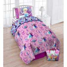 Disney s Frozen Floral Frost Twin Bedding Set with Bonus Tote
