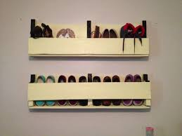 Shoe Organizer On Wall Diy Pallet Rack Success Love Compact One Dma Homes 14302 Home Decor Ideas