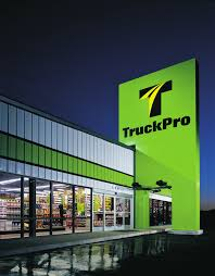 TruckPro Heavy-duty Truck Parts And Service Line Card