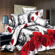 marilyn monroe bedding beautiful scenery comforter set