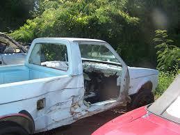 82 VW Rabbit Truck Wrecked Passenger Side