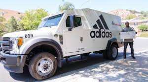 100 Armour Truck UNBOXING Adidas ARMORED Surprise SNEAKER Delivery YouTube
