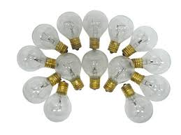 c9 intermediate base g40 clear replacement bulbs 40 watts 25