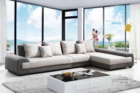 Fabric Sofa Set L Shape