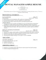 Sample Dental Resume General Dentist Writing Tips Objective Examples