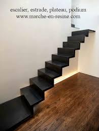 escalier suspendu tarif www marche en resine decoupe de