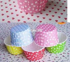 2019 Polka Dot Cupcake Liners Baking Paper Cups For Muffin
