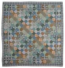 Patch Magic Chambray Nine Patch Quilt Twin 65