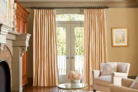 great curtain rod options for patio doors designer drapery hardware