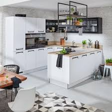 einbauküche nolte integra weiß