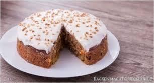 fettarmer saftiger karottenkuchen