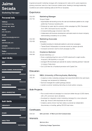 Marketing Resume: Sample & Complete Guide [+20 Examples] Resume Examples Templates Orfalea Student Services 10 Best Marketing Rumes Billy Star Ponturtle Advertising Marketing Sample Professional Real That Got People Hired At Rumes Free You Can Edit And Download Easily Email Template Job Application Luxury Cover Letter Work Example Guide For 2019 What Your Should Look Like In Money And Pr Microsoft