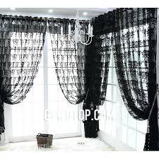 Gray Sheer Curtains Target by Black Sheer Curtains U2013 Teawing Co