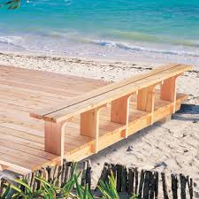 Simple Deck With BuiltIn Bench The Family Handyman