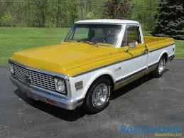 100 1971 Chevy Truck SOLD SOLD Cheyenne C10 Shortbox Ross Customs