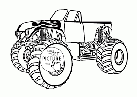 Best Of Monster Truck Coloring Page For Kids Monster Truck - 2018 ...