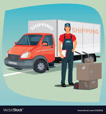 Man With Hand Truck Trolley And Box Truck Vector Image 16ft Box Truck Wraps Billboard Advertising Stickers Prints Iveco Eurocargo 75e16 4x2 Euro 5 Closed Box Trucks For Sale From The 2008 Isuzu Npr 2000 16 2015 Hd Ft Dry Van Bentley Services Gmc Truck Mag Trucks 2012 Gmc 1993 Isuzu Box Truck 475 Turbo Diesel 2 Axle 2007 Iveco Daily 35c15 Xlwb Ft Luton Van Long Mot Px To Clear